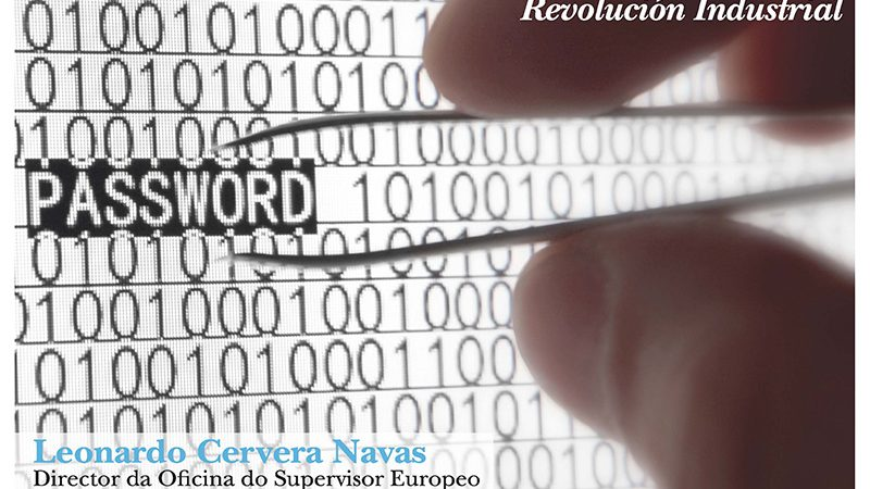 """Conferencia """"Protección de datos e dereitos dixitais nos albores da Cuarta Revolución Industrial"""""""